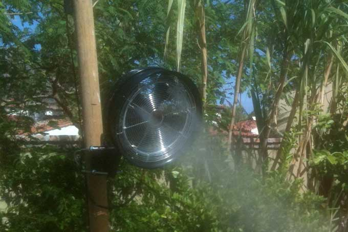 Misting Cooling Systems For Palm Springs And Palm Desert