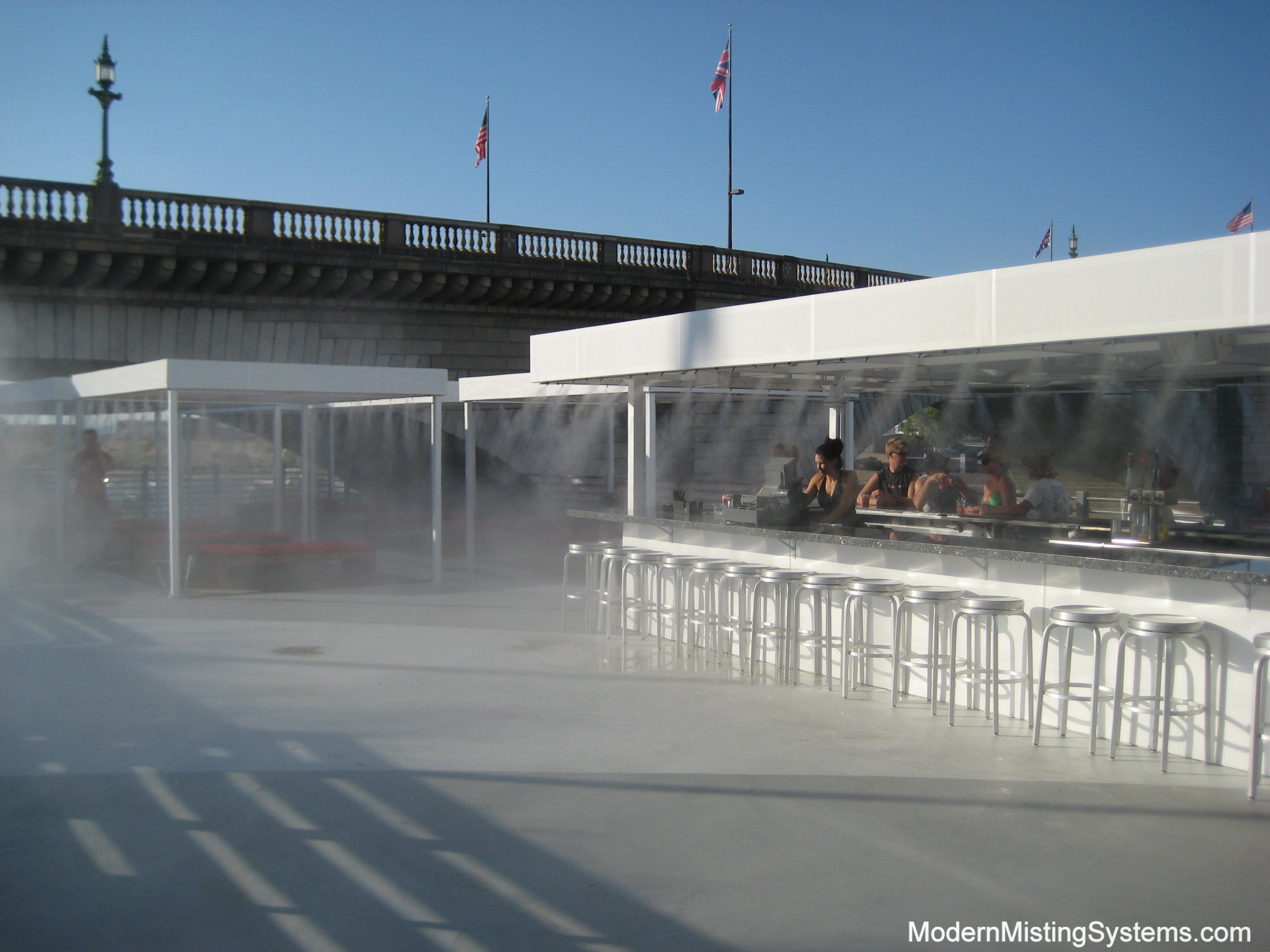 Misting Pumps provide mist in Lake Havasu Arizona