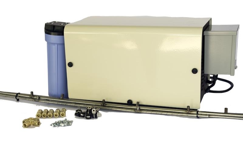50 Foot SS Misting Kit, 20″ O.C., GOLD Series Pump