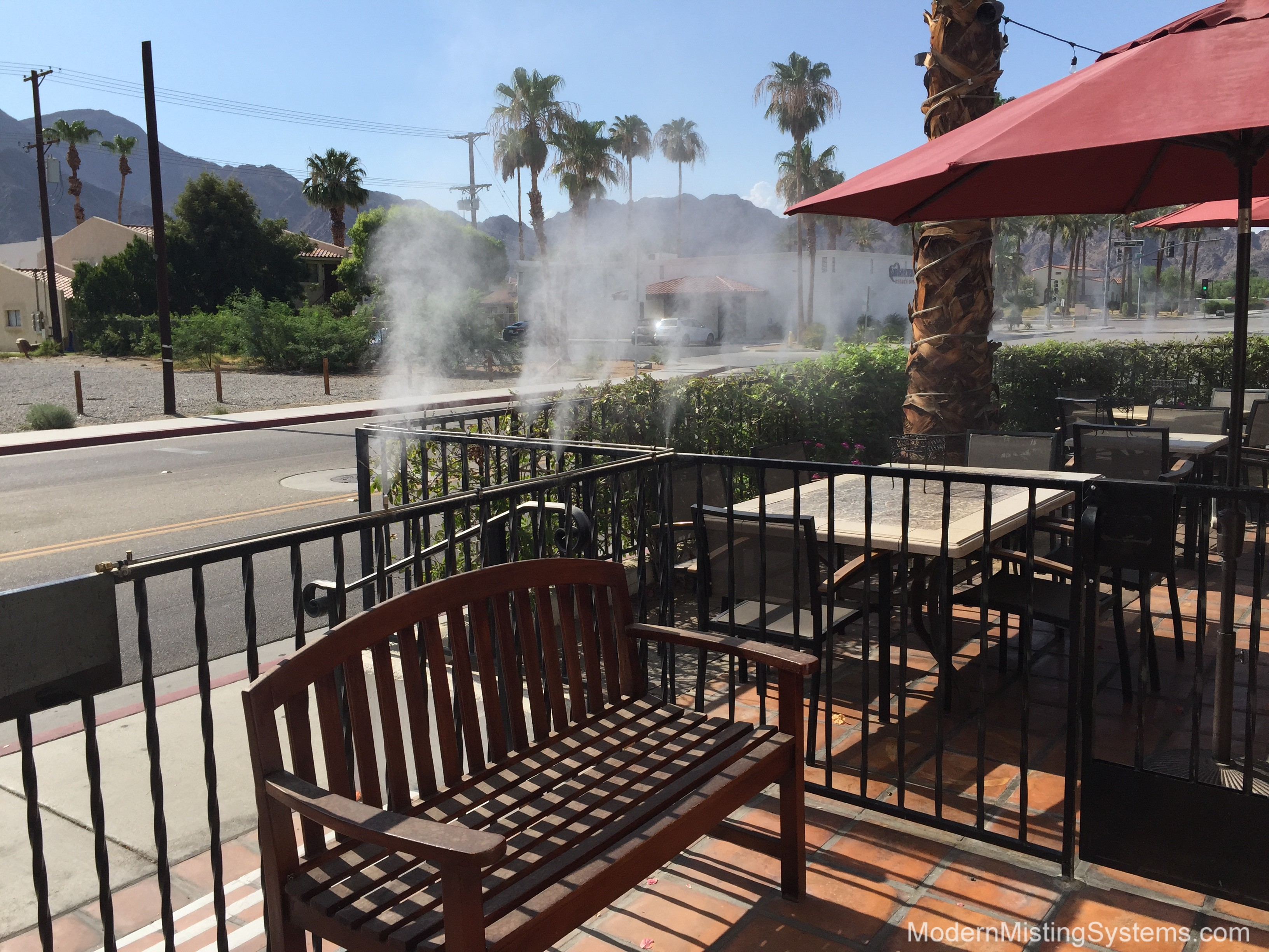 Misting System in La Quinta & the surrounding area