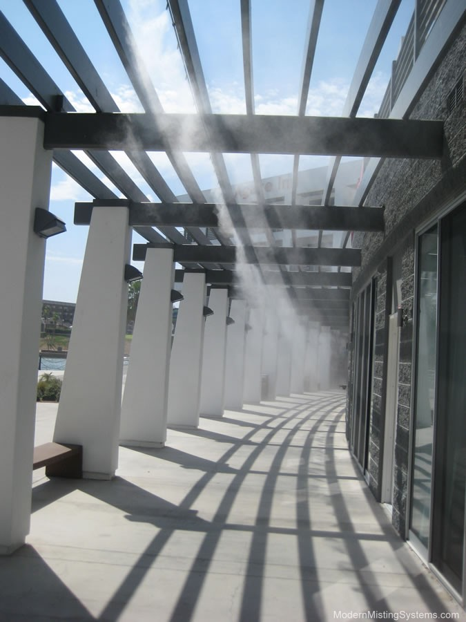 Commercial Systems Modern Misting Systems For Palm