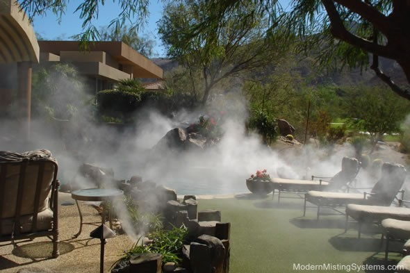 Misting Cooling Systems Palm Springs Amp Palm Desert