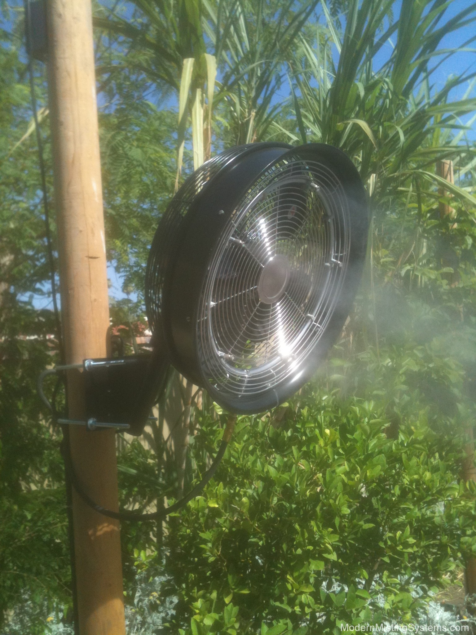 Commercial Misting Fans